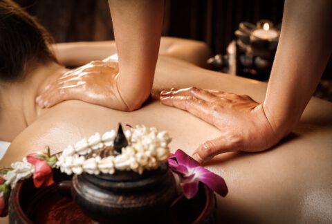 Aroma Olie Massage